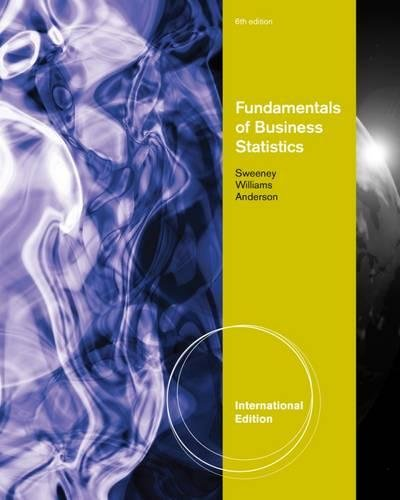 9781111221270: Fundamentals of Business Statistics
