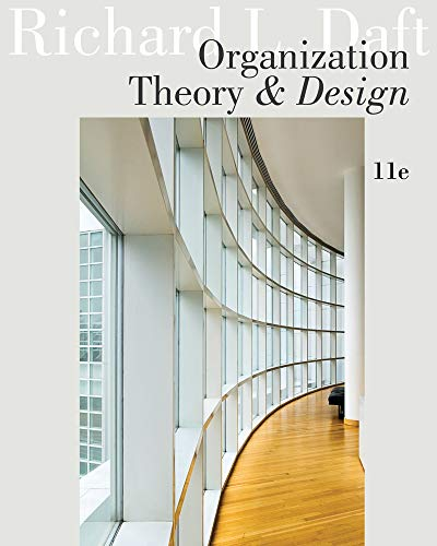 9781111221294: Organization Theory and Design