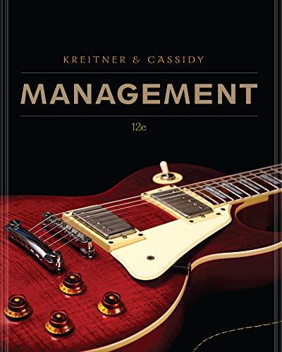 Management: Cassidy, Charlene, Kreitner,