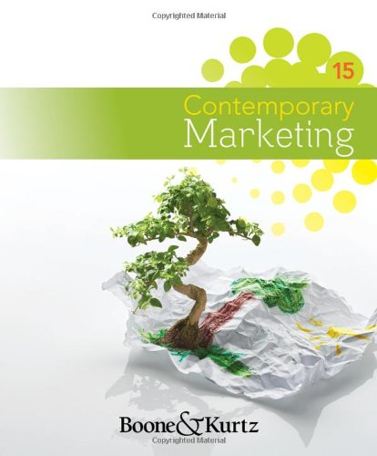 9781111221782: Contemporary Marketing