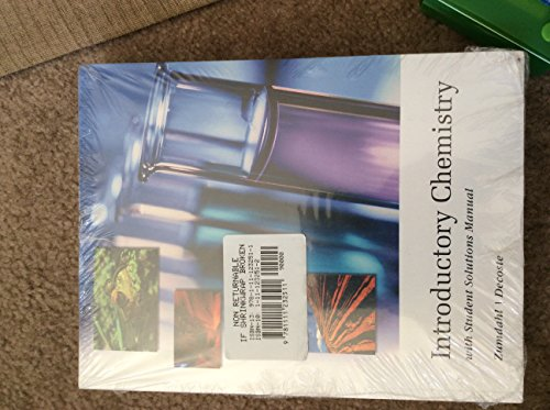 9781111232511: Introductory Chemistry