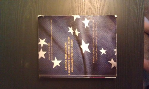 9781111295356: A People and a Nation: A History of the United States and a more Perfect Union Volume:1 Custom Edition For BCCC (1)