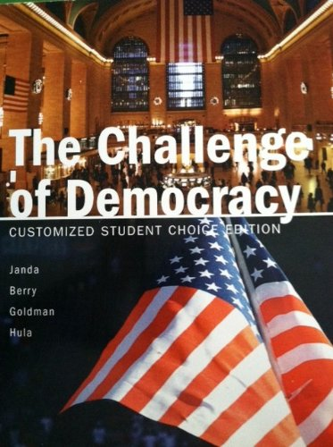 9781111296414: The Challenge of Democracy