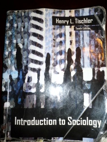 Introduction to Sociology: Henry L. Tischler