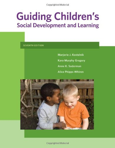 9781111301255: Guiding Children's Social Development and Learning (What's New in Early Childhood)
