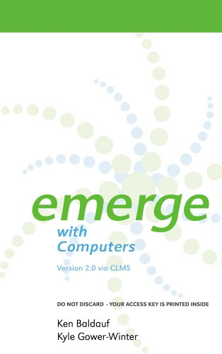 9781111302269: Emerge with Computers Version 2.0 via CLMS Printed Access Card