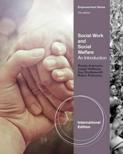 9781111304775: Social Work and Social Welfare: An Introduction, International Edition
