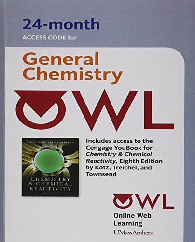 PAC Owl Chemistry & Chemical Reactivity: John C. Kotz,