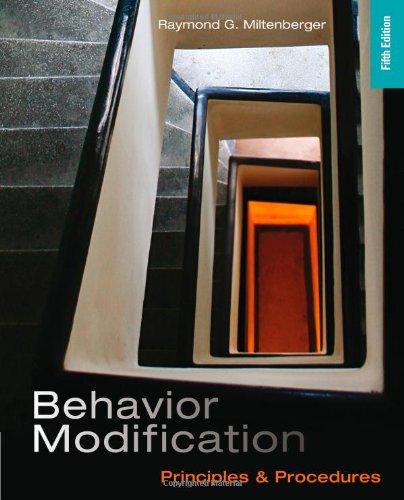 9781111306113: Behavior Modification: Principles and Procedures