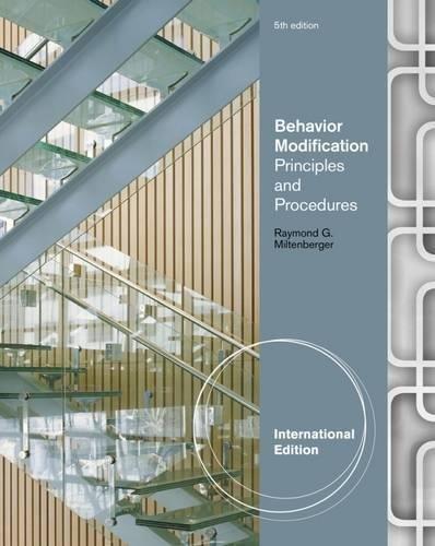 9781111306120: Behavior Modification: Principles and Procedures