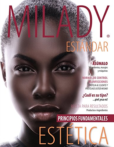 Spanish Translated Milady Standard Esthetics: Fundamentals: Milady
