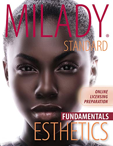 Milady U Online Licensing Preparation: Fundamental Esthetics Printed Access Card (1111307040) by Milady