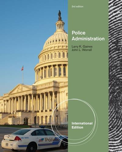 9781111309053: Police Administration