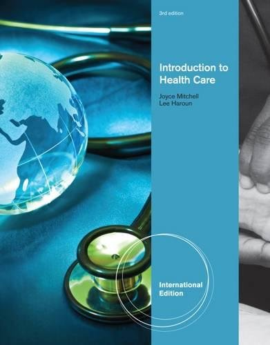 9781111311476: Introduction To Health Care 3Rd Ed.