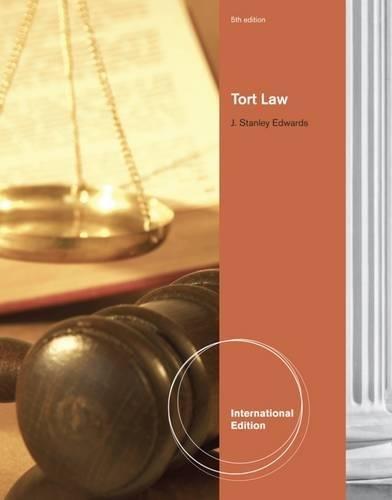 9781111312213: Tort Law