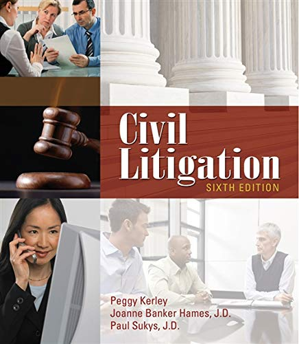 9781111312220: Civil Litigation