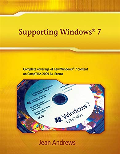 9781111317072: Supporting Windows 7