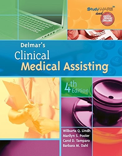 9781111318635: Delmar's Clinical Medical Assisting (Book Only)