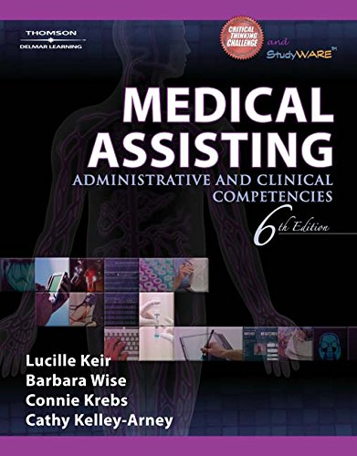 9781111318710: Medical Assisting: Administrative and Clinical Competencies (Book Only)