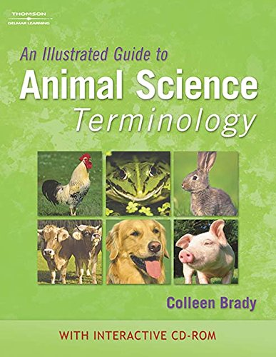 9781111318918: An Illustrated Guide to Animal Science Terminology (Book Only)