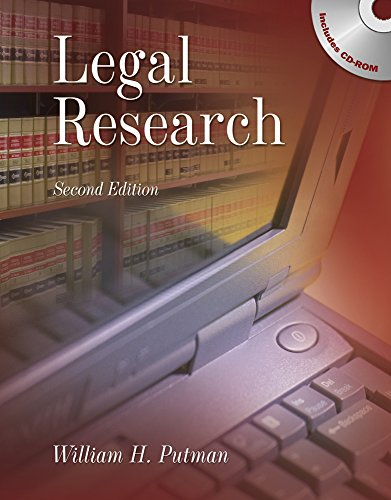 9781111319175: Legal Research (Book Only)