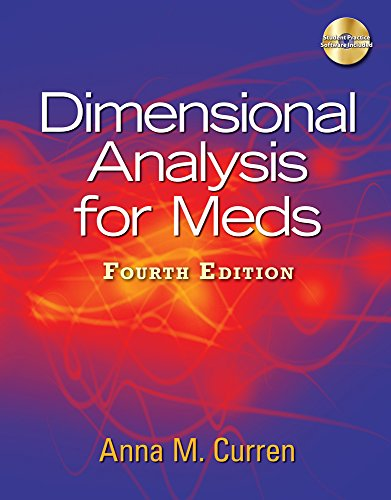 9781111319366: Dimensional Analysis for Meds (Book Only)