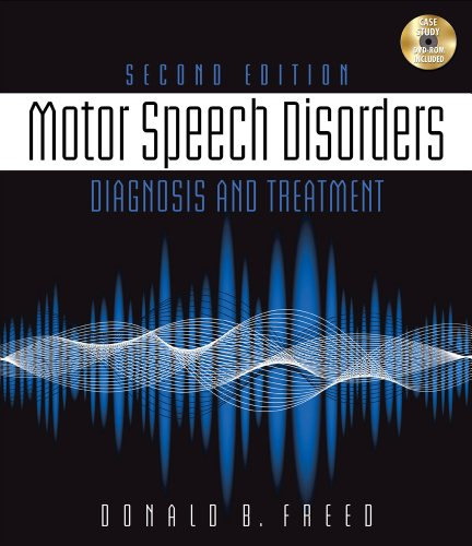 9781111319700: Motor Speech Disorders: Diagnosis & Treatment (Book Only)