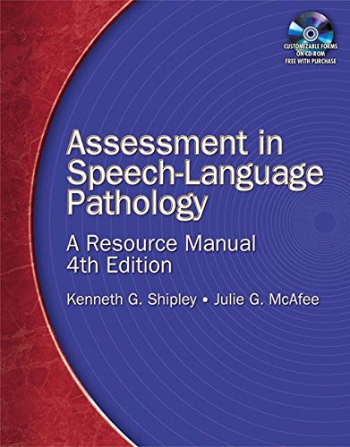9781111319816: Assessment in Speech-Language Pathology: A Resource Manual (Book Only)