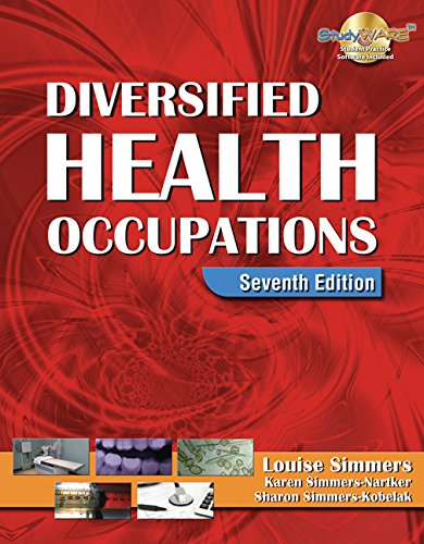 9781111319892: Diversified Health Occupations (Book Only)