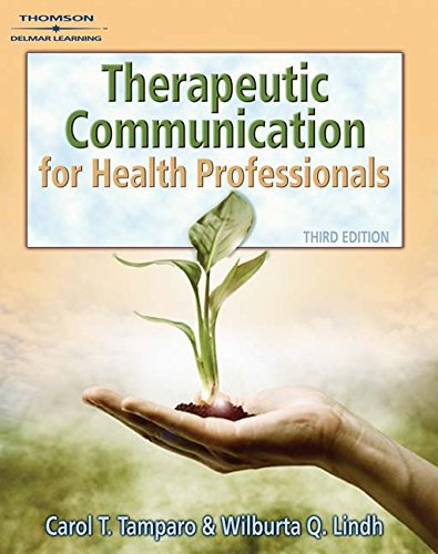 9781111320140: Therapeutic Communications for Health Care (Book Only)