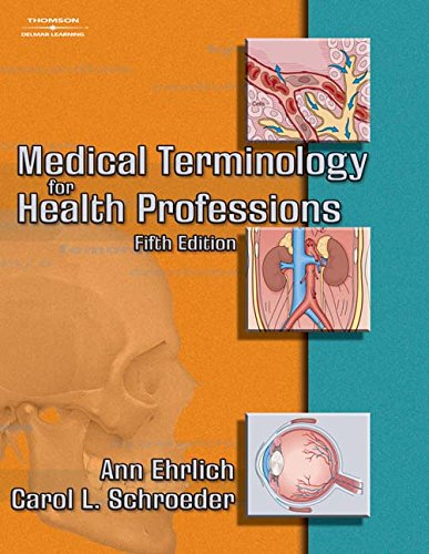 9781111320256: Medical Terminology for Health Professions (Book Only)