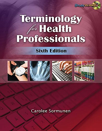 9781111320317: Terminology for Health Professionals (Book Only)