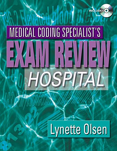 9781111320690: Medical Coding Specialist's Exam Review: Hospital (Book Only)