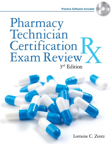 9781111321154: Pharmacy Technician Certification Exam Review (Book Only)