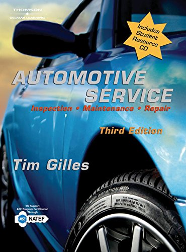 9781111321239: Automotive Service: Inspection, Maintenance, Repair (Book Only)