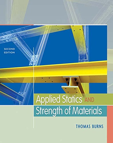 9781111321246: Applied Statics and Strength of Materials (Book Only)