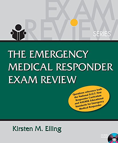 9781111321710: Emergency Medical Responder Exam Review (Book Only)
