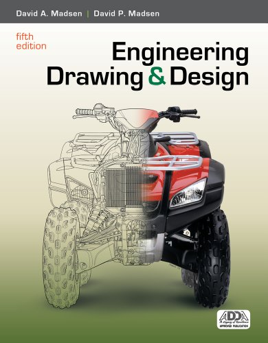 9781111321833: Engineering Drawing and Design (Book Only)