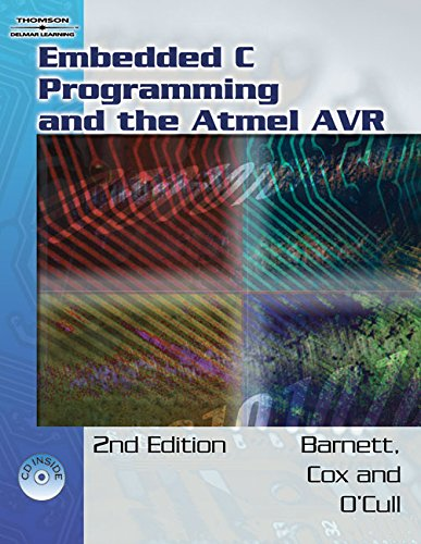 9781111321888: Embedded C Programming and the Atmel AVR (Book Only)