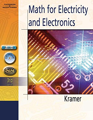 9781111322052: Math for Electricity & Electronics (Book Only)