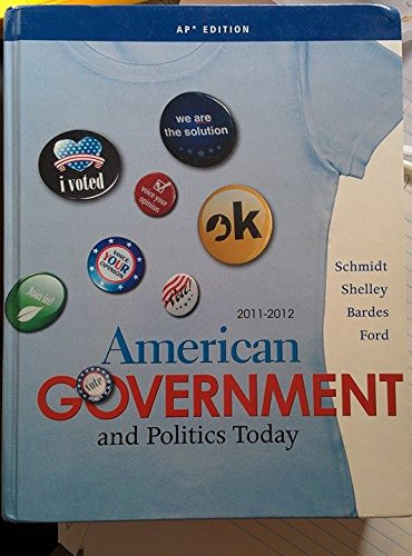 9781111341237: American Government and Politics Today: AP Edition