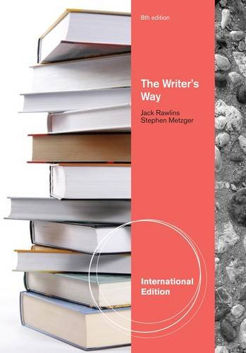 9781111341473: The Writer's Way (International Edition)