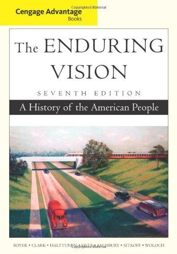 9781111341558: Cengage Advantage Books: The Enduring Vision