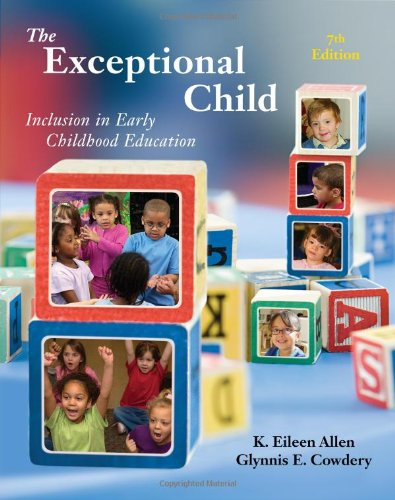 9781111342104: The Exceptional Child: Inclusion in Early Childhood Education (PSY 683 Psychology of the Exceptional Child)