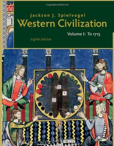 9781111342128: Western Civilization: Volume I: To 1715