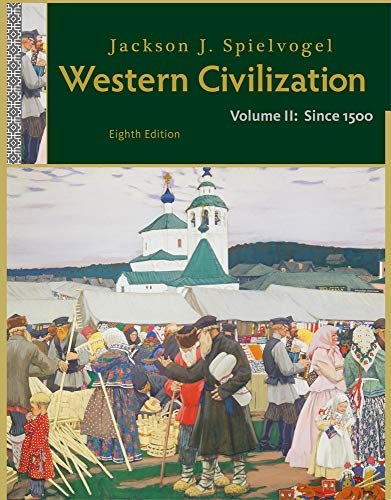 9781111342135: Western Civilization: Volume II: Since 1500