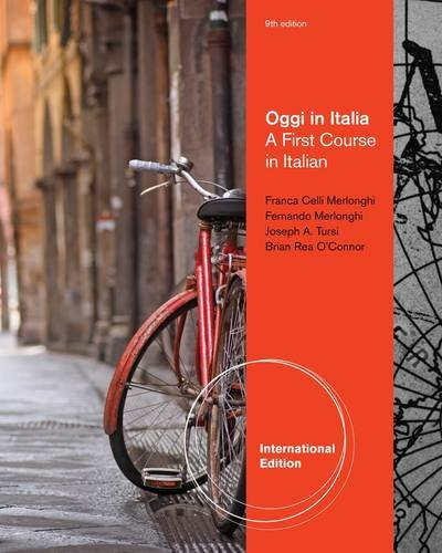 Oggi in Italia: A First Course in: Brian Rea O'Connor;