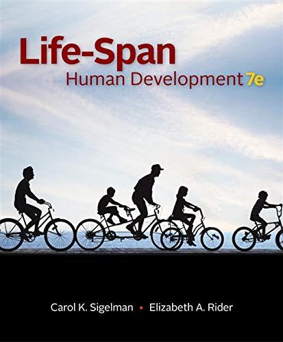 Life-Span Human Development (Hardback): Carol K Sigelman,