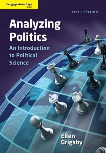 9781111342777: Cengage Advantage Books: Analyzing Politics