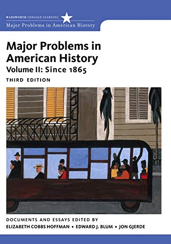 9781111343163: Major Problems in American History, Volume II